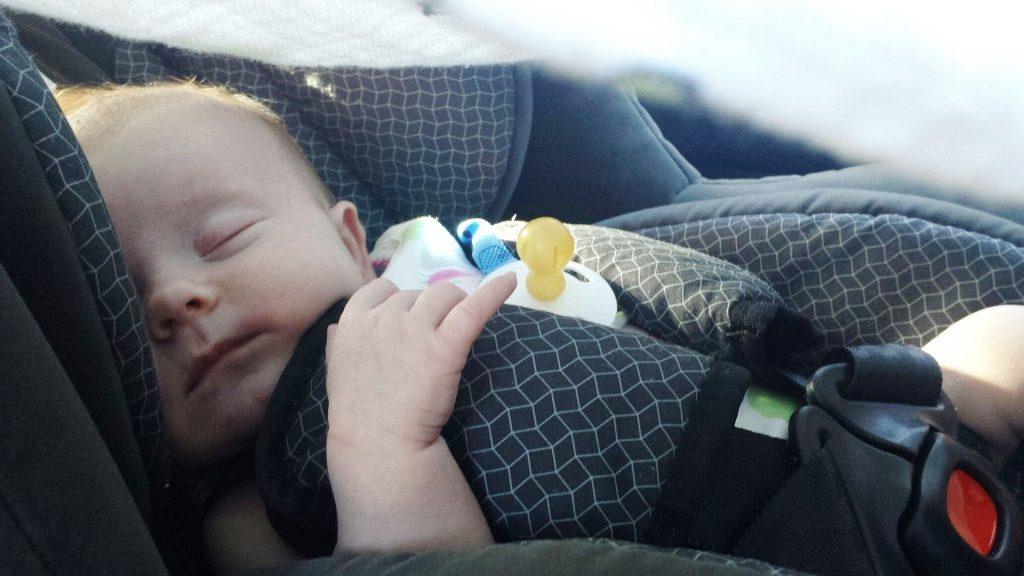 Kinderzitje in de auto