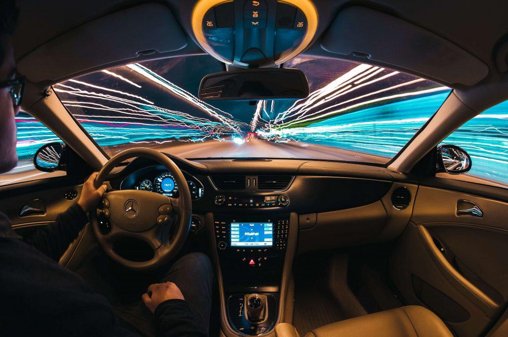 slimme verlichting auto